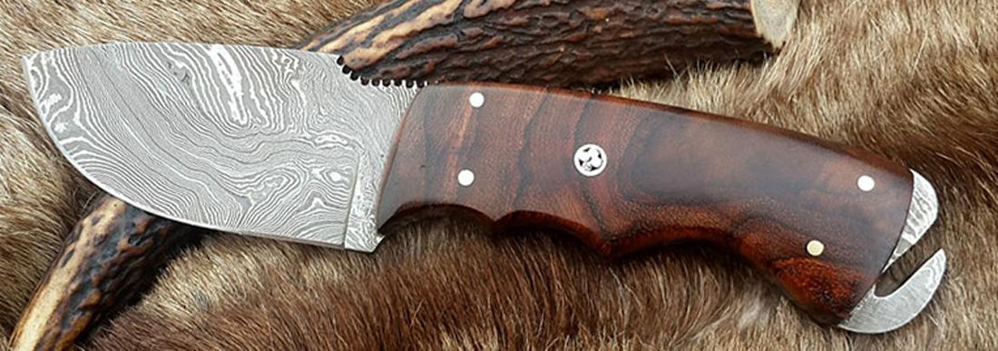 нож шкуросъемный